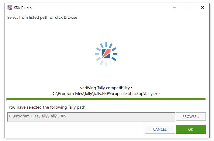 GST Software Launcher: Installation Process